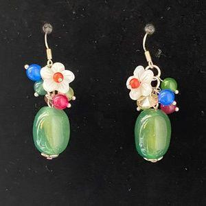 Jewelry - 🌸2/$15🌸 New SS 925 Flowers Fashion Earrings
